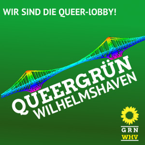 QUEERGRÜN-WHV Logo