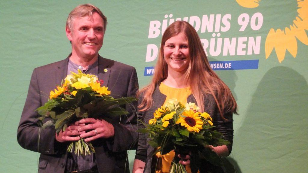 Hanso Janßen und Anne Kura