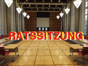 Ratssitzung
